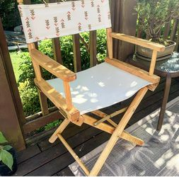 Boho Directors Chair for Sale in Seattle,  WA
