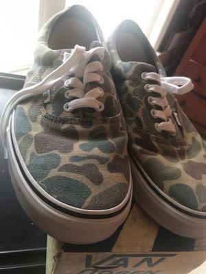 Vans Van Doren Camo Size 10.5 for Sale in Ashburn, VA
