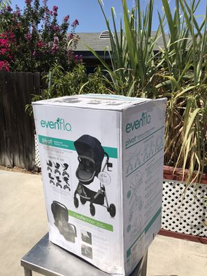 Evenflo Pivot Travel System (Navy Blue) for Sale in San Bernardino, CA