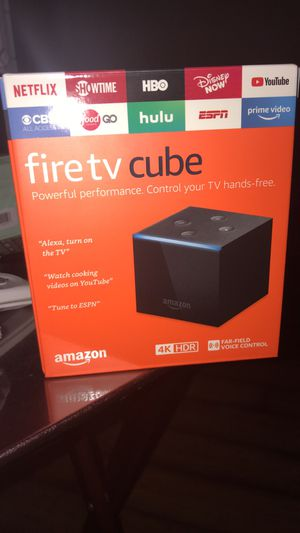 Brand New Fire TV cube for Sale in Phoenix, AZ