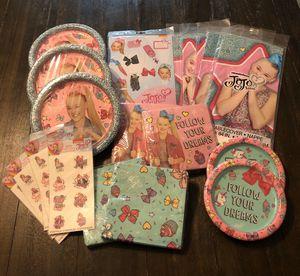 Jojo Siwa Party Supplies for Sale in San Antonio, TX
