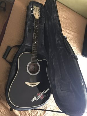Esteban ROCK-ON Crystal Heart Limited Edition Acoustic Electric Guitar for Sale in Long Beach, CA