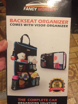 Organizer for back of car seat NEW for Sale in West Springfield, MA