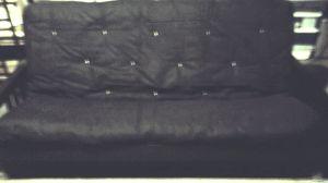 adjustable wooden frame futon for Sale in Denver, CO