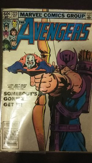 Marvel comic group the avengers for Sale in Jacksonville, FL