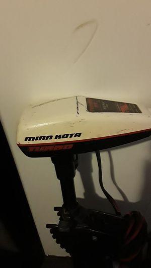 Minn kota turbo 65 for Sale in Salt Lake City, UT
