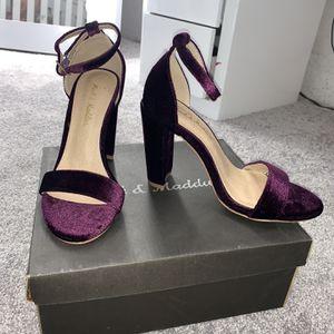 Purple Velvet Heels for Sale in Phoenix, AZ
