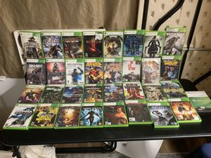 33 XBOX 360 GAME BUNDLE M rate down for Sale in Hoodsport, WA