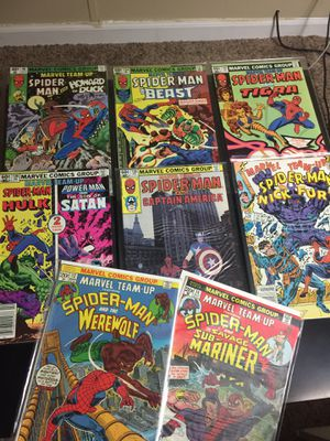 *Lot Of 10* Marvel Team-Up Comic Book Collection & New 2019 Marvel Spider-Man Issue 1&2 for Sale in Macomb, MI