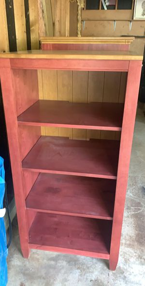 Entertainment and two side bookshelves matching set for Sale in Dallas, GA