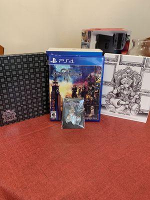 Kingdom Hearts III Deluxe edition for Sale in Philadelphia, PA