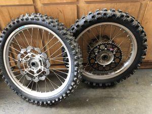 Yamaha yz450f wheels wheel set for Sale in Tustin, CA