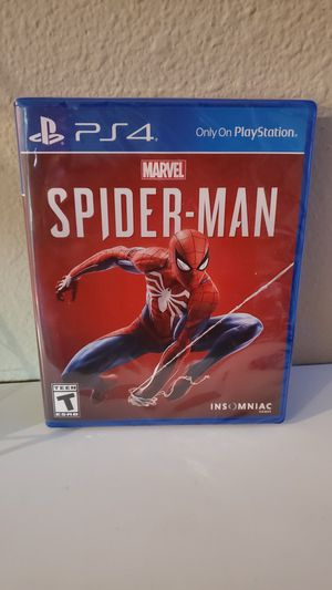 Spider-Man PS4 sealed for Sale in Shawnee, KS