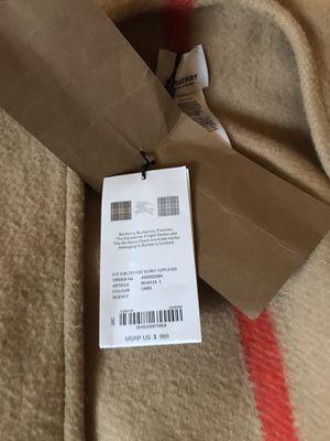 Authentic Burberry cape for Sale in Seattle, WA