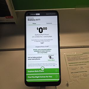 Samsung Galaxy A11 for Sale in Franklin Park, IL