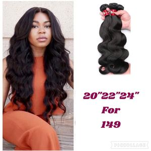 body wave human hair 20,22,24 virgin unprocessed hair for Sale in Atlanta, GA