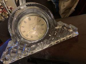 Godinger Crystal Dublin Pattern Clock for Sale in Brea, CA