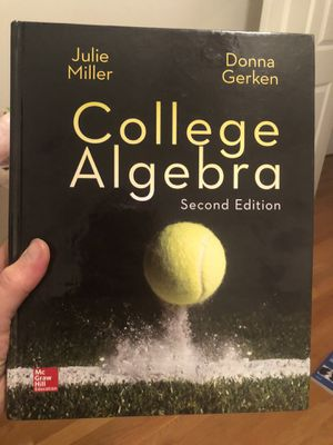 College Algebra second edition. No marking for Sale in Houston, TX