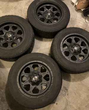 """18"""" rims and tires. 6x5.5 or 6x135 for Sale in Seattle, WA"""
