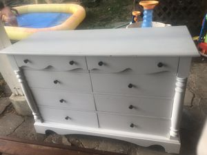 Antique/ shabby chic 8 drawer dresser for Sale in Vancouver, WA