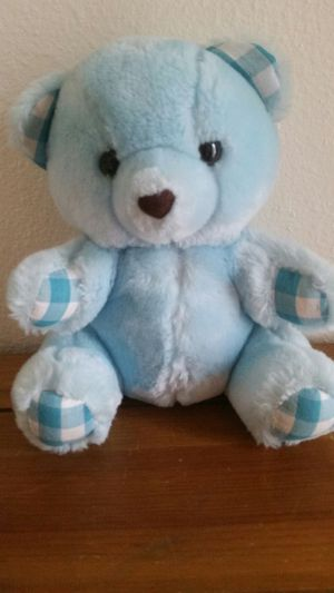Blue Stuffed Bear Toy for Sale in Pearland, TX