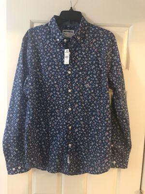 Express floral men's dress shirt. Small. Original $70 for Sale in Lexington, KY