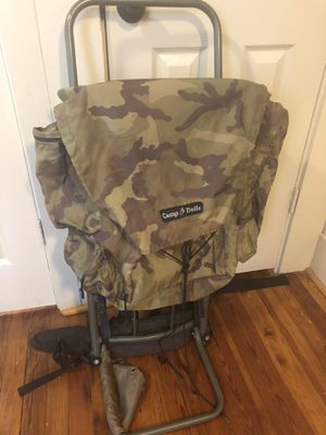 Backpack, hiking, sturdy large, aluminum frame for Sale in Atlanta, GA