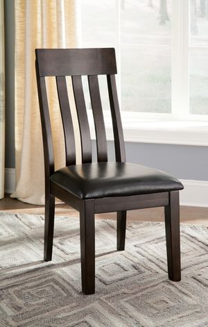 Ashley Furniture Dining Chair (Each $99), Rustic Brown Finish for Sale in Santa Ana, CA