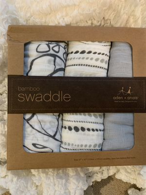 Aden and anais bamboo swaddles for Sale in Reston, VA