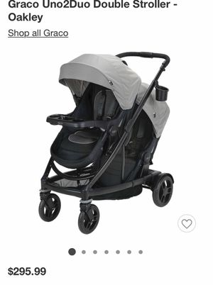 Uno to Duo Double Stroller for Sale in Walnut, CA