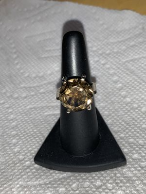 Smoky quartz ring vintage for Sale in Taylorsville, UT