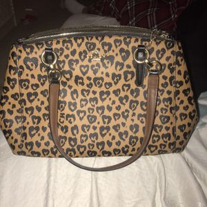 Cheetah Print Coach Purse for Sale in Austin, TX