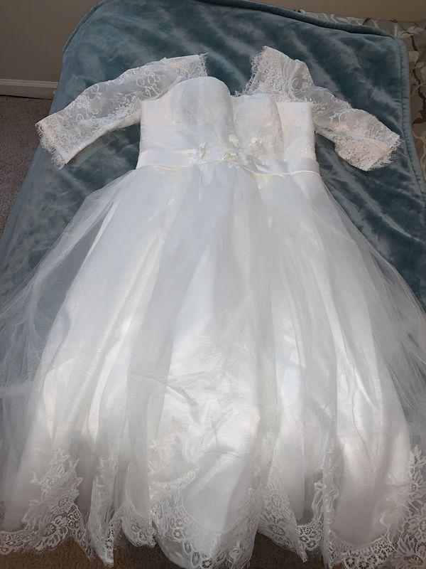 White/Ivory Wedding dress Sz 14