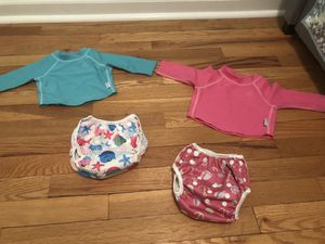 Baby girl swim outfits for Sale in Hewlett, NY