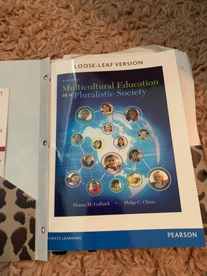 Multicultural education in a pluralistic society textbook for Sale in Brandon, FL