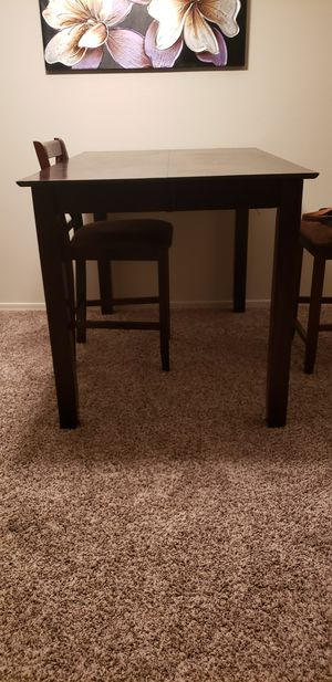 Tall Table and 4 Chairs for Sale in Chandler, AZ