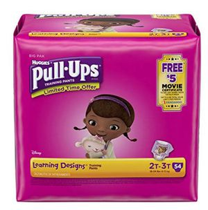 Huggies 2T-3T Girl's Pullups 45 Count for Sale in Miami, FL