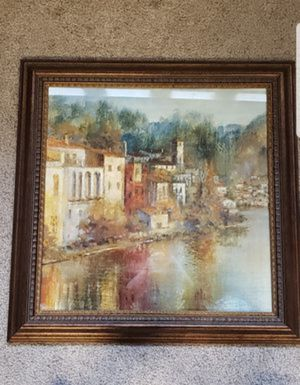 """42"""" x 42"""" Framed picture from Aaron Brothers for Sale in Lincoln, CA"""