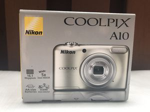 Brand New/Unopened-Nikon CoolPix A10 Digital Camera for Sale in Silver Spring, MD