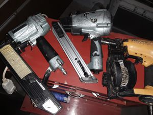 "Coil roofing nailer. 1/2"" w stapler, nail gun for Sale in Peoria, AZ"