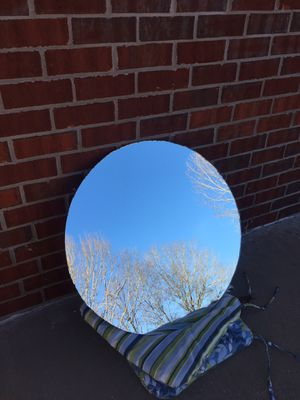 Round mirror for Sale in Marshall, TX