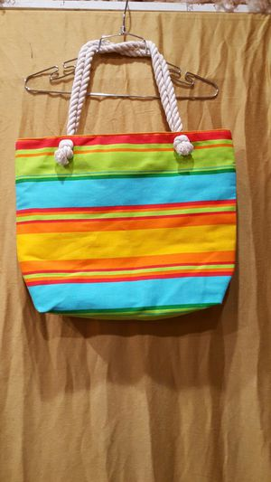 Stripe beach style tote bag for Sale in Portland, OR