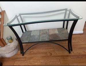 Glass Console Table for Sale in Upper Marlboro, MD