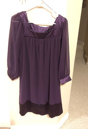 Size Large purple dress for Sale in Springfield, VA