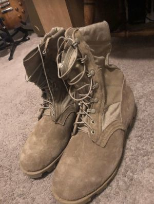 New Belleville Tan Combat Boots Size 11 for Sale in Perris, CA