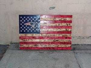 Patriot logo flag for Sale in Auburn, NY