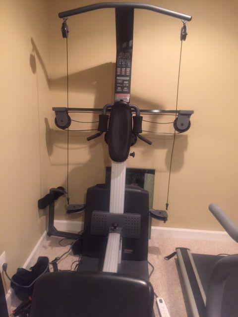 Weider crossbow workout bench