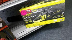 Ryobi Brand New! 40v brushless Chainsaw for Sale in Orlando, FL