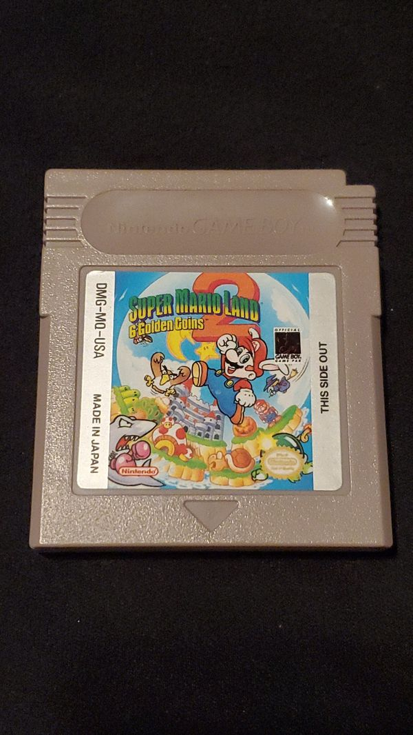 Super Mario Land 2 Six Golden Coins
