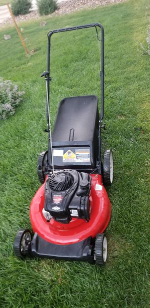Yard machines lawn mower- excellent condition for Sale in Aurora, CO